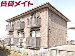 三重県四日市市新正3の賃貸アパートの外観