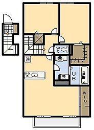 (新築)セジュール・アイII B棟[202号室]の間取り