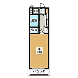 メゾン34[3階]の間取り