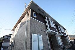香川県高松市植松町の賃貸アパートの外観