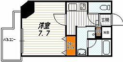 アスヴェル京都西京極[7階]の間取り