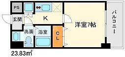 Ts square江坂[8階]の間取り