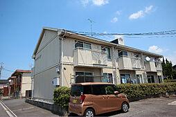 愛知県名古屋市中川区戸田西3丁目の賃貸アパートの外観