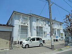 新潟県新潟市東区新石山4丁目の賃貸アパートの外観