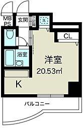 ノルデンハイム新大阪[9階]の間取り