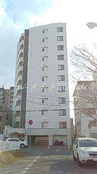北海道札幌市中央区宮の森二条6丁目の賃貸マンションの外観
