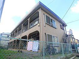千葉県松戸市西馬橋相川町の賃貸アパートの外観