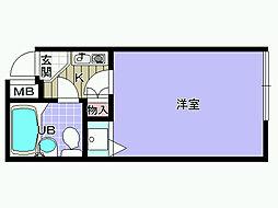 シャルマンフジ久米田参番館[301号室]の間取り