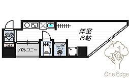公高貴王ビル(女性限定レディースマンション)[4階]の間取り