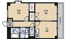 第12高光マンション[7階]の間取り