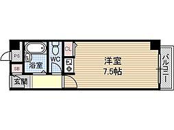 サンフォレスト新中条[3階]の間取り