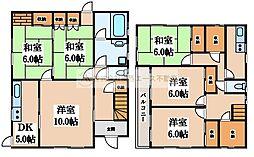[一戸建] 大阪府堺市中区土師町1丁 の賃貸【/】の間取り