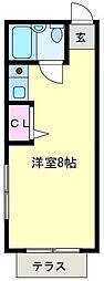 中山マンション[101号室]の間取り