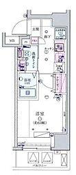 リヴシティ横濱宮元町[9階]の間取り