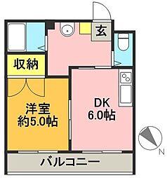 ポントワーズ代田[2階]の間取り