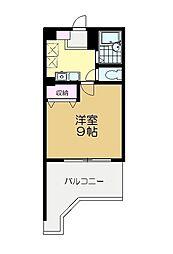 マキビル王子台[6階]の間取り