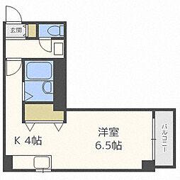 北海道札幌市北区北三十七条西3丁目の賃貸マンションの間取り