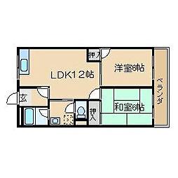 ヴェルデ高御座[3階]の間取り