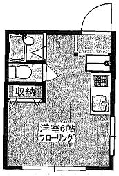 東京都豊島区長崎2丁目の賃貸アパートの間取り