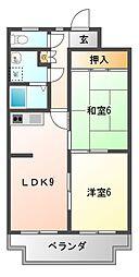 エクセレントマンションオリオン[2階]の間取り