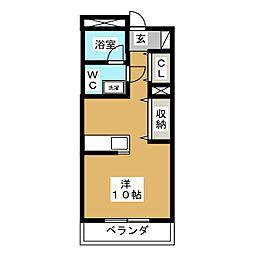 マンションアモーレ[3階]の間取り