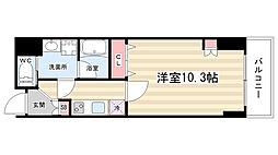 アスヴェル京都東堀川[306号室]の間取り
