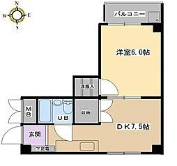 ウィルトアロード[2階]の間取り