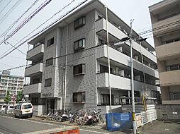 愛媛県松山市三番町8丁目の賃貸アパートの外観