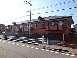 愛媛県松山市南江戸2丁目の賃貸アパートの外観