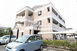 岡山県岡山市北区高柳西町の賃貸マンションの外観