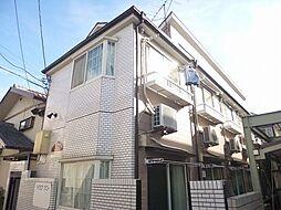 東京都東村山市萩山町2丁目の賃貸アパートの外観