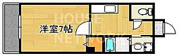 アライブキノ2[203号室号室]の間取り
