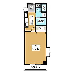 オオキタ・コーポレーションビル[4階]の間取り