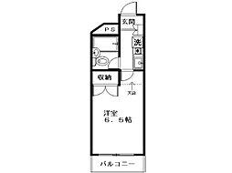 文教ハイム国分寺[3階]の間取り