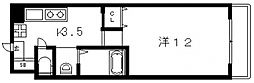 フロム東大阪[803号室号室]の間取り