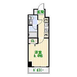 AZEST四つ木[6階]の間取り