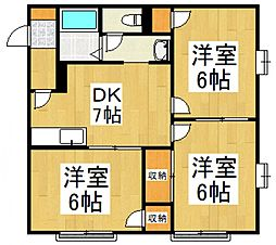 Maison Lilas[1階]の間取り