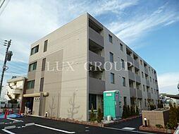 東京都武蔵村山市三ツ木2丁目の賃貸マンションの外観