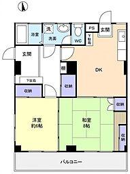 MYマンションPart3[1階]の間取り