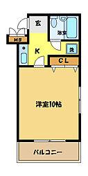 埼玉県さいたま市桜区栄和3丁目の賃貸マンションの間取り