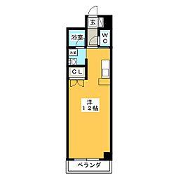 M・O・SBLD[4階]の間取り