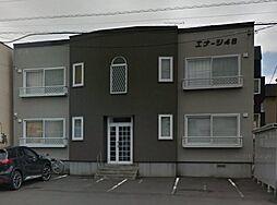 北海道札幌市東区北四十六条東2丁目の賃貸アパートの外観
