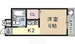 椥辻駅 2.4万円