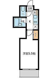 KWプレイス東小金井 5月契約キャンペーン[308号室]の間取り
