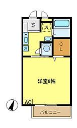 コンフォート戸塚[1階]の間取り