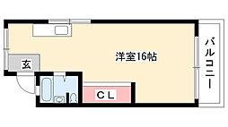 愛知県名古屋市瑞穂区村上町3丁目の賃貸マンションの間取り