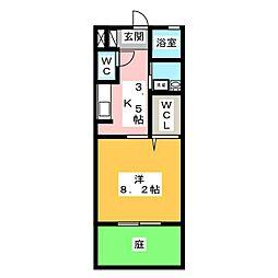 エトワール利平治[1階]の間取り