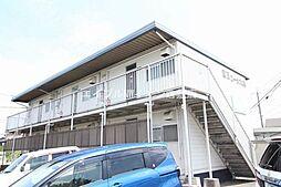 岡山県倉敷市西阿知町新田の賃貸アパートの外観