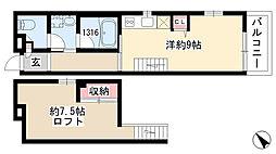 新川橋駅 5.5万円