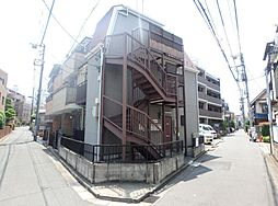 東京都新宿区上落合1丁目の賃貸アパートの外観